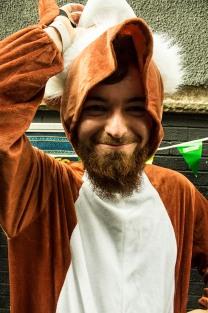 fun in a fox suit