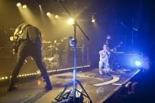 glasvegas, rock band, live performance, lead singer, musician, male, colour photo