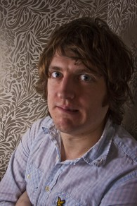 elis james, comedian, colour photo, portrait